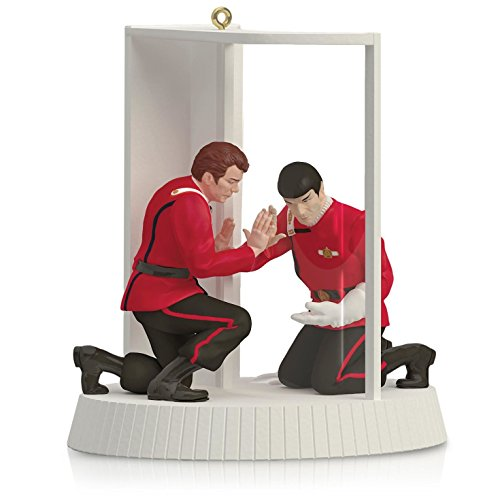 Star Trek II : The Wrath of Khan – Mr. Spock and Captain Kirk The Needs of the Many Ornament 2015 Hallmark