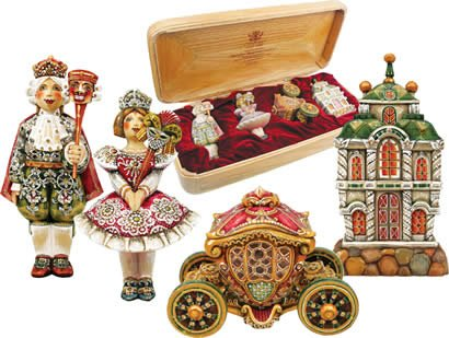 G. Debrekht Deluxe Masquerade Ball Ornament Set