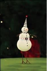 Patience Brewster Mini Ornament – Mr. Snowman
