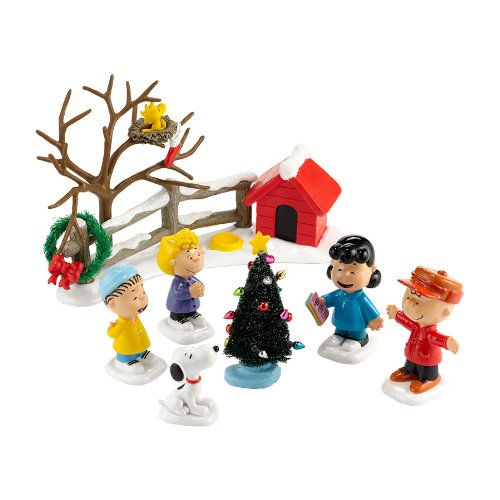 Department 56 Peanuts The Merriest Christmas Ever Figurine, 3-Inch