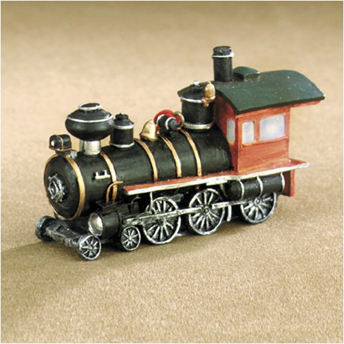Western Train Engine Resin Christmas Ornament
