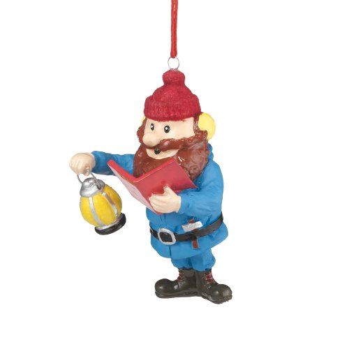 Department 56 Rudolph Yukon Jack Singing Ornament, 2.83-Inch