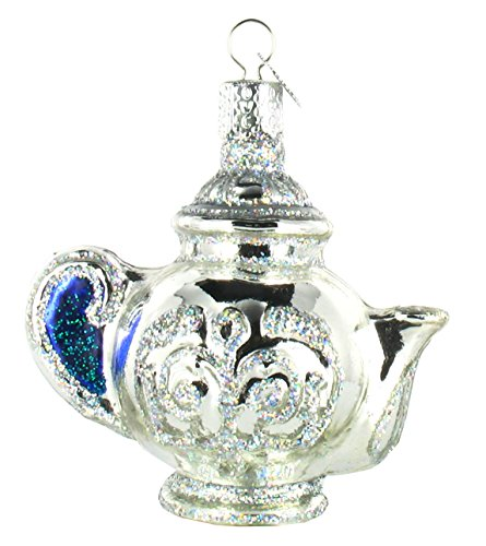 Old World Christmas Teapot Glass Ornament