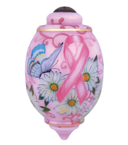 Symbol of Hope Ne' Qwa Breast Cancer Awareness Ornament