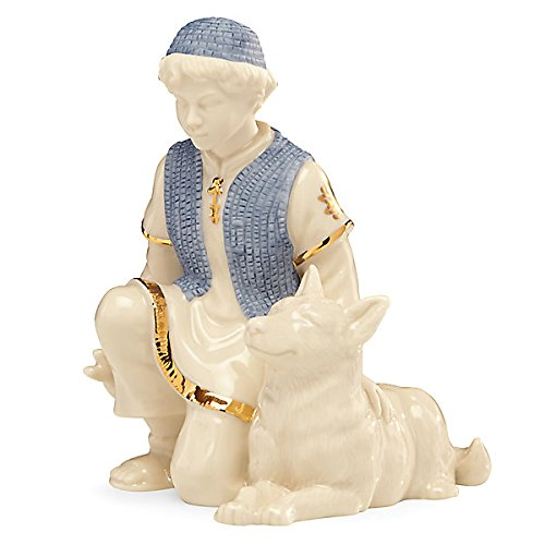 Lenox First Blessing Nativity Shepherd with Dog