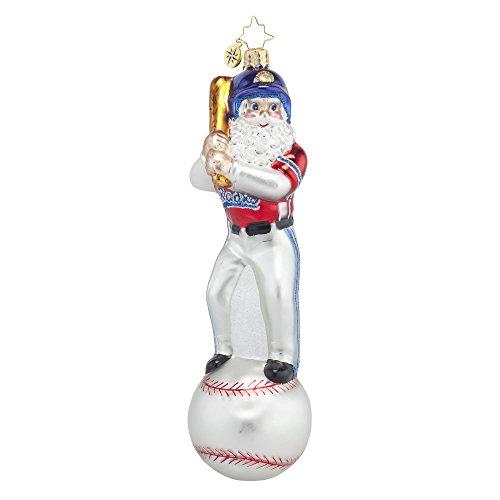 Christopher Radko Homerun Nick Christmas Ornament