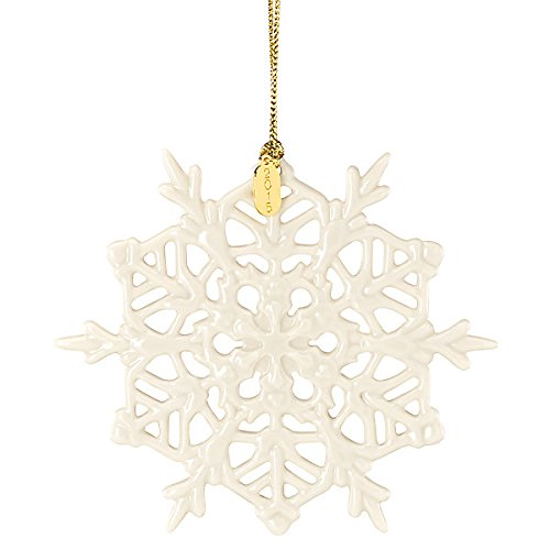 Lenox 2015 Snow Fantasies Snowflake China Ornament