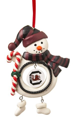 University of South Carolina Jolly Snowman Christmas Ornament