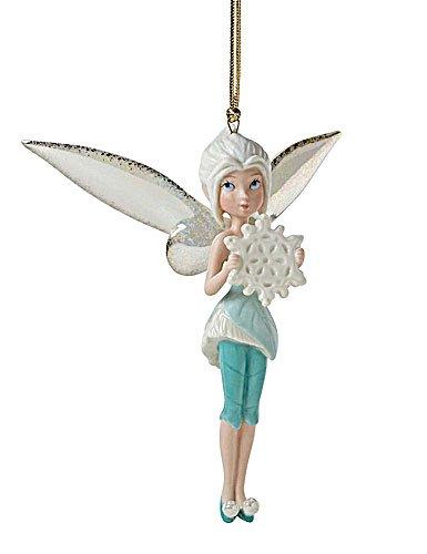 Lenox Periwinkles Snowy Wish Festive Ornament