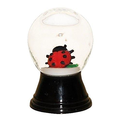 Alexander Taron Perzy Snowglobe, Mini Ladybug – 1.5″H x 1″W x 1″D
