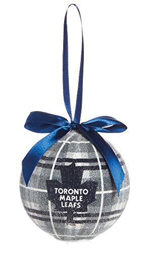 100mm LED Ball Ornament, Toronto Maple Leafs
