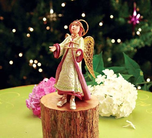 Patience Brewster Lls Reverent Angel Ornament – Krinkles Christmas 08-30675