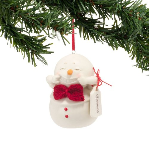 Department 56 Snowpinions Cheeeze Ornament, 2-Inch