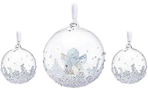 Swarovski Annual Edition 2015 Christmas Ball Ornament Set