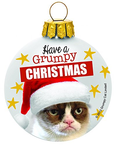 Have a Grumpy Christmas – Grumpy Cat Christmas Ornament by Ganz
