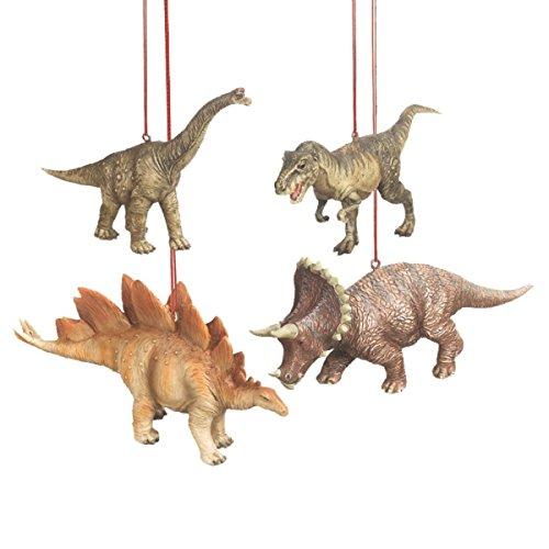 Dinosaur Christmas Ornaments – Set of 4