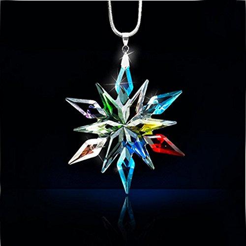 2015 Annual Edition Spiritual crystal snowflake Ornament car pendant