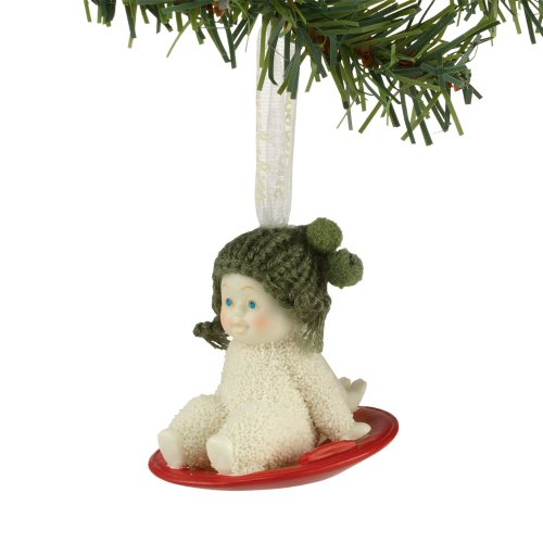 Snowbabies from Department 56 In A Spin Ornament