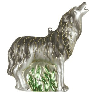 Margaret Cobane Glass Ornament – Howling Timberwolf