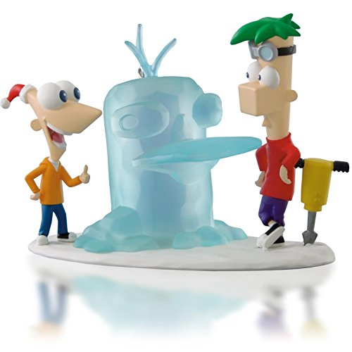 Hallmark QXD6133 Icy-Cool Adventure – Disney Phineas and Ferb – 2014 Keepsake Ornament