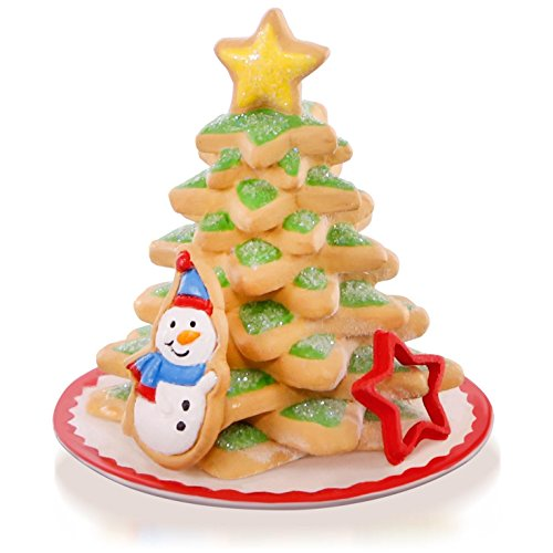 Hallmark QX9169 Season's Treatings Cookie Tree Snowman Ornament