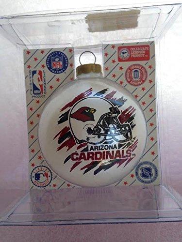 "Arizonsa Cardinals 2 5/8"" Painted Round Helmet Christmas Tree Ornament"