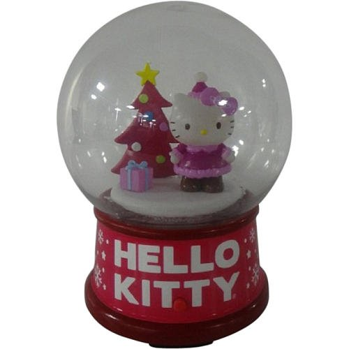 Hello Kitty Mini Musical Snowglobe