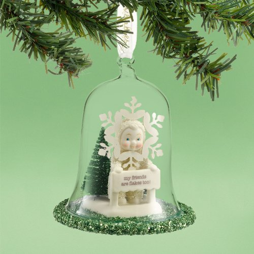 Snowbabies My Friends are Flakes Ornament, 4-Inch