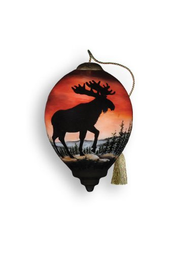 Ne'Qwa Moose Silhouette Ornament