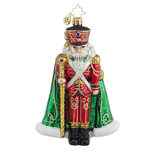 Christopher Radko Major General Nutcracker Glass Christmas Ornament