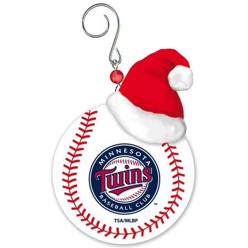 Minnesota Twins Baseball Christmas Ornament