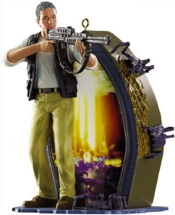 Carlton Cards Heirloom Stargate SG-1 Christmas Ornament with Sound