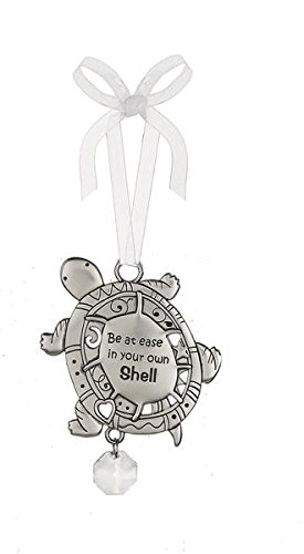 Be at Ease In Your Own Shell – Beautiful Blessing Turtle Ornament by Ganz