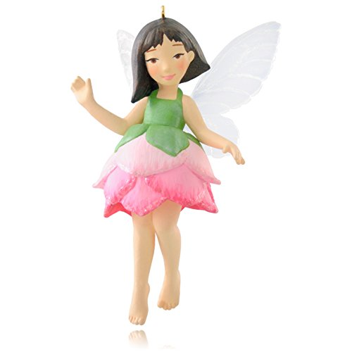 Hallmark Keepsake Ornament Pink Lotus Fairy Messenger 11th in The Fairy Messengers Series