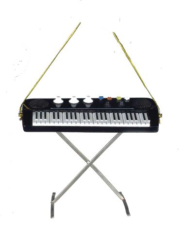 Music Treasures Co. Electric Keyboard Christmas Ornament