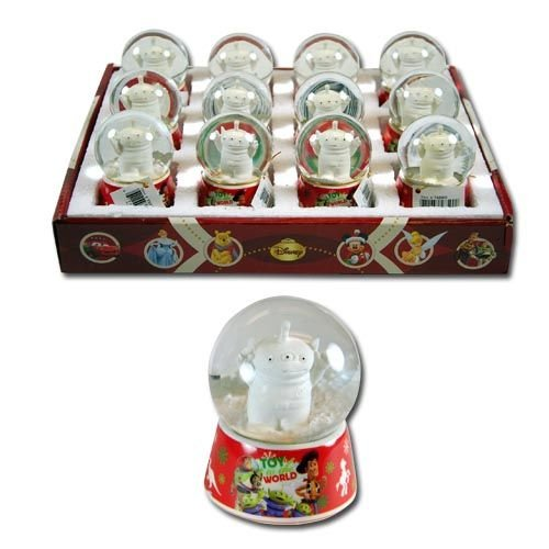Licensed Disney Characters 1.77″ Glass Snowglobe with Printed Base (Toy Story)
