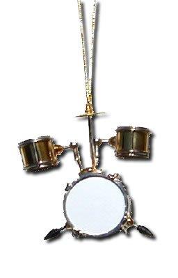 Miniature Drum Set Christmas Ornament 2.5″ x 3″