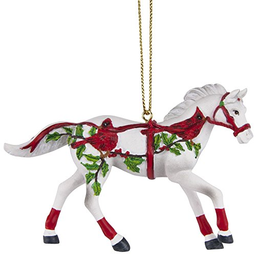 Enesco Trail of Painted Ponies Christmas Canter Ornament, 2.3-Inch