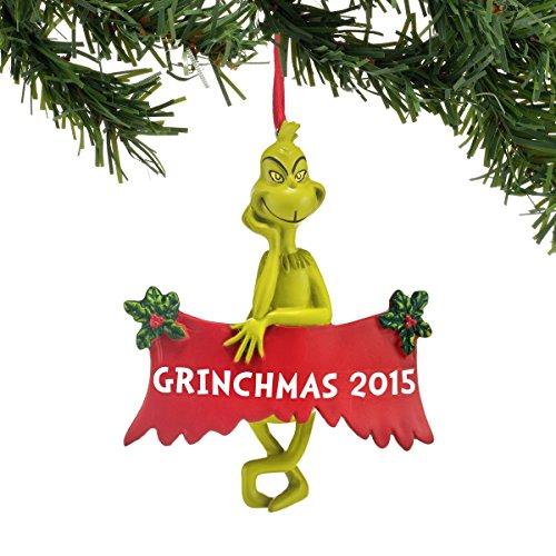 Department 56 Classics Grinchmas 2015 Ornament