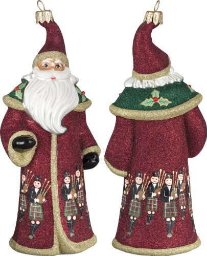 Glitterazzi 12 Days of Christmas, Eleven Pipers Piping Ornament
