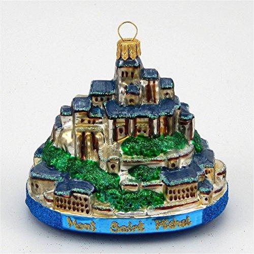 Mont Saint Michel – Polish Blown Glass Ornament
