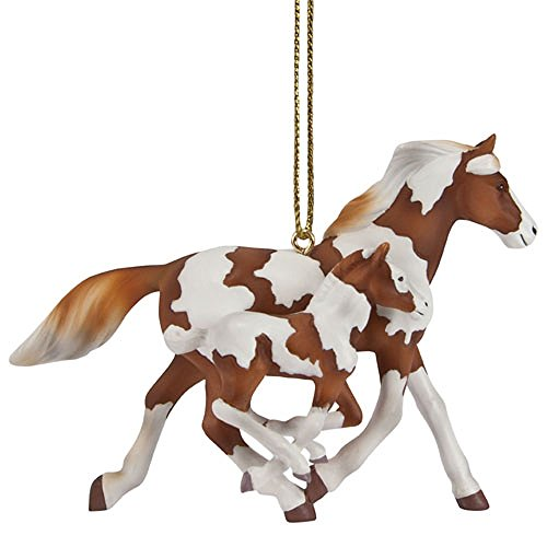Enesco Trail of Painted Ponies Painted Harmony Ornament, 2.44″