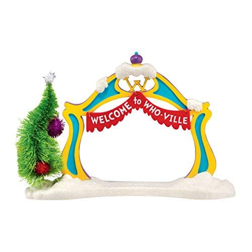 Department 56 Grinch Village Grinch Archway Figurine