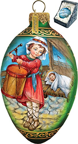 Drummer Boy Egg Ornament