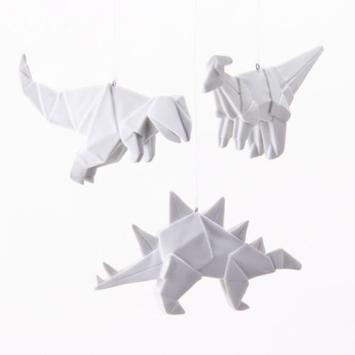 Origami Dinosaur Set of 3 One Hundred 80 Degrees