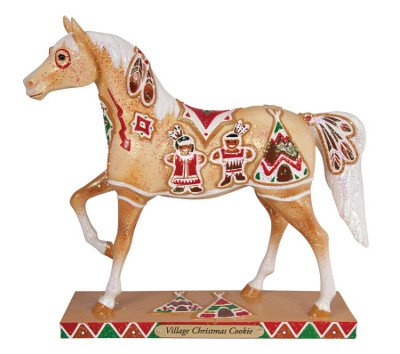 Enesco Trail of Painted Ponies Village Christmas Cookie Figurine, 7-1/4-Inch