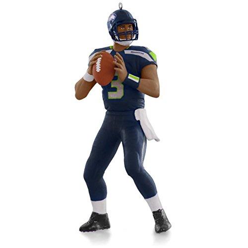 NFL Seattle Seahawks Russell Wilson Ornament 2015 Hallmark