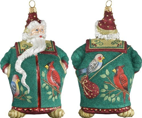 Glitterazzi 12 Days of Christmas, Four Calling Birds Ornament