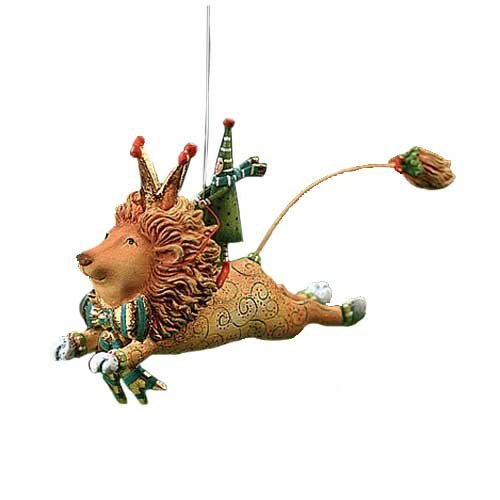 Joyful Flying Lion Ornament, 09-01301
