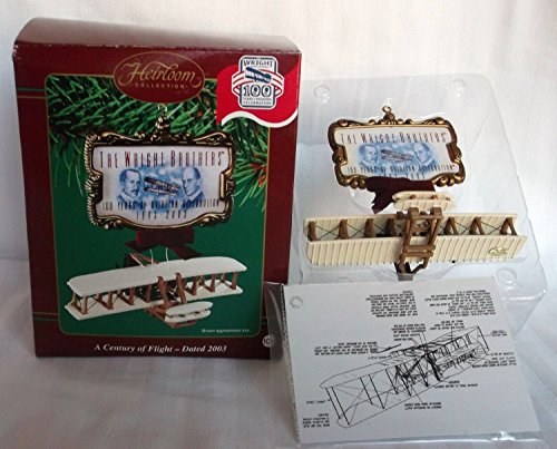 Carlton Cards A Century of Flight – Wright Brothers Retired – Christmas Ornament CXOR-106J